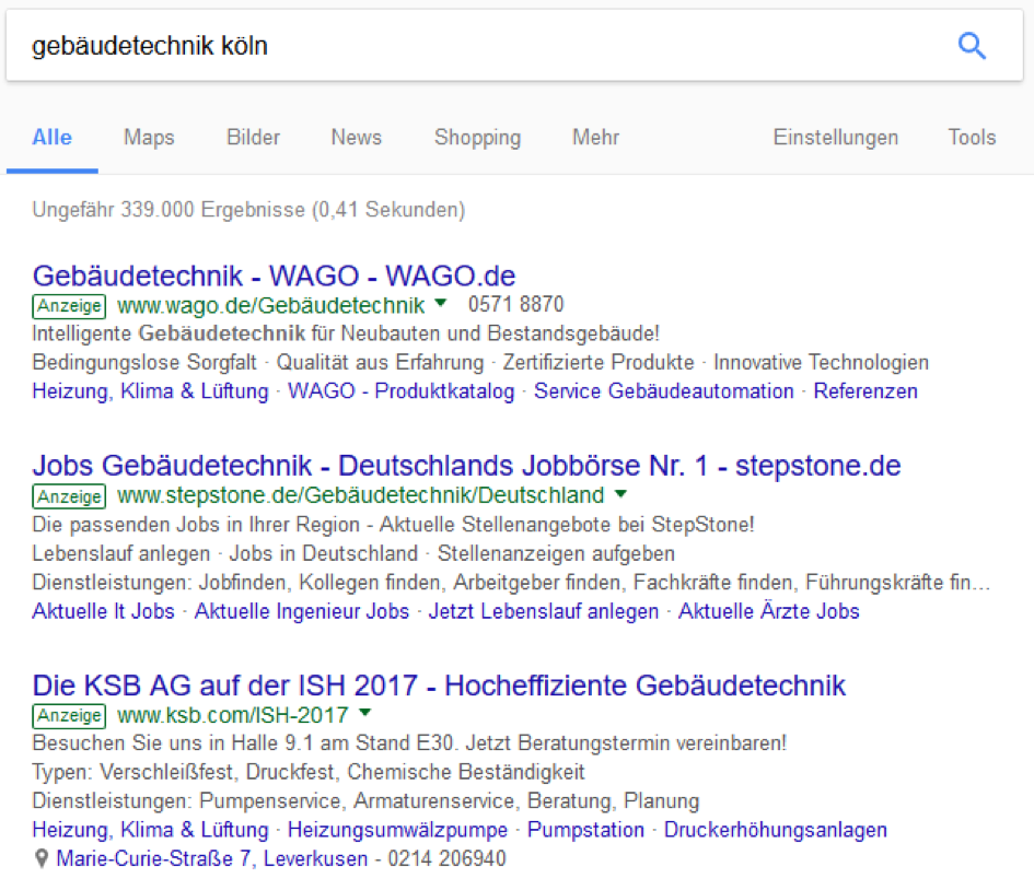 Modernes Marketing: Mit Google Adwords ganz oben in den Suchergebnissen erscheinen
