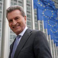 EU-Kommissar Günther H. Oettinger als Ehrengast beim 3. VdT – Europatag
